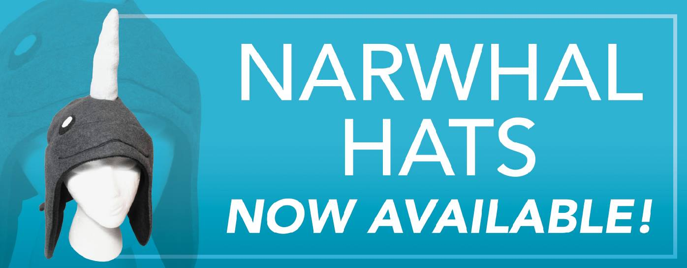 Narwhals hats promo